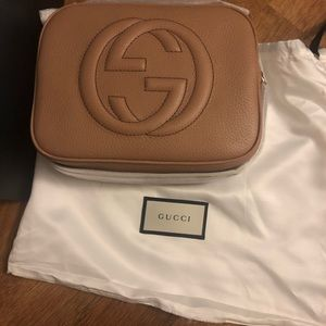Gucci Bags - Gucci Disco Bag Camelia. Brand new in box.